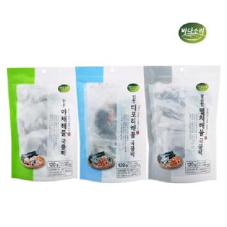 바다소리 해물육수 간편 티백/국물팩/다시팩/만능육수 120g(15g*8포)