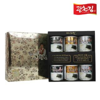 [4+1]광천김 달인 김병만의 6호 선물세트  [4세트구매시1세트더!]