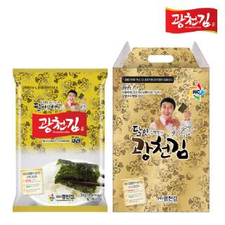 [9+1]광천김 달인 김병만의 7호 선물세트 [9세트구매시1세트더!]