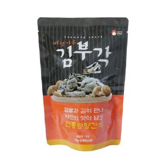 버섯가루 수제 찹쌀 김부각 10봉