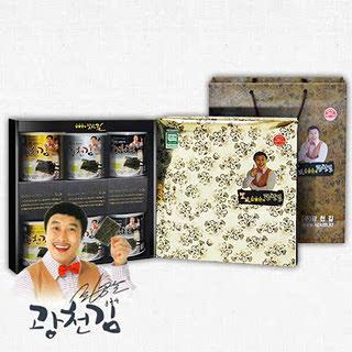 광천김 김병만의 달인 6호 선물세트