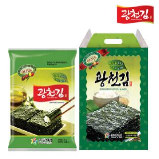 광천김 올리브 전장김 선물세트