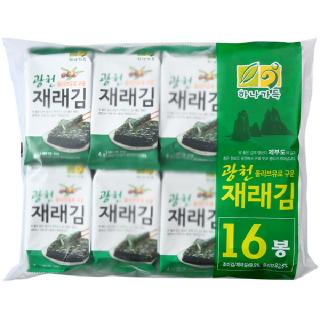 농협하나로마트  광천재래도시락김(4g*16봉)