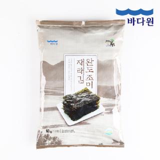 바다원 국산 완도 조미 재래 전장김 60g