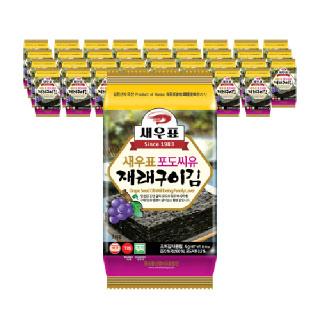 새우표 포도씨유 완도 도시락김 4g x 36봉