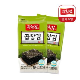 [광천김] 곱창김 도시락김 5g X 32봉 / 특가