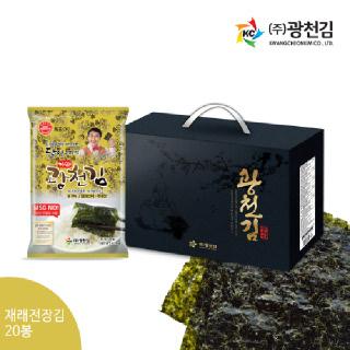 광천김 달인 김병만의 광천김 30-3호 선물세트 [5세트구매시1세트더!]