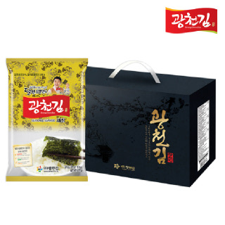 [5+1 행사] 광천김 달인 김병만의 광천김 30-3호 선물세트 [5세트구매시1세트더!]