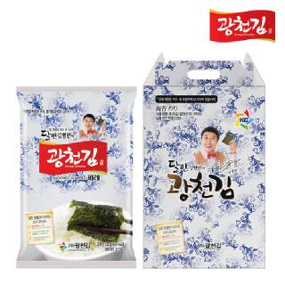 광천김 달인 김병만의 9호 선물세트