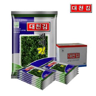 대천김 재래김 10봉 / 파래김 10봉 / 돌김 10봉