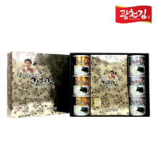 광천김 달인 김병만의 4호 선물세트