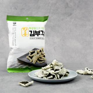 장흥 무산김으로 만든 김부각(45gx6봉)