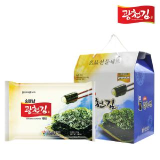 광천김 소문난 전장김 25g*10봉 선물세트