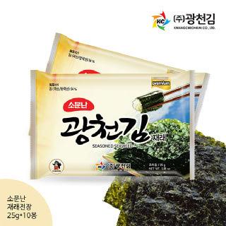 광천김 광천김 재래전장김(소) 25g x 10봉