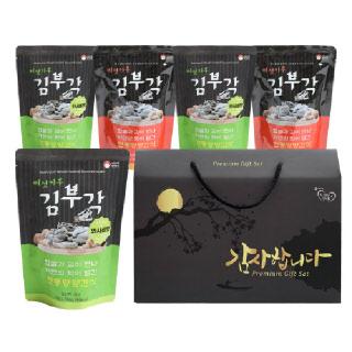 [명절선물세트]버섯가루 수제 찹쌀 김부각