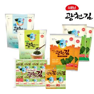 광천김 바삭바삭 도시락김/전장김/김자반 골라담기