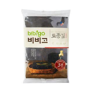 농협하나로마트 비비고 참기름 토종김 20gx3봉