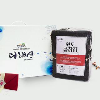완도 곱창돌김 선물세트 200장(화이트라벨)