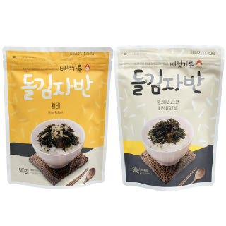 버섯가루 돌김자반 50gx5봉, 50gx10봉