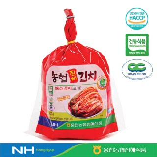 [웅천농협진해식품]배추김치(포기)900g