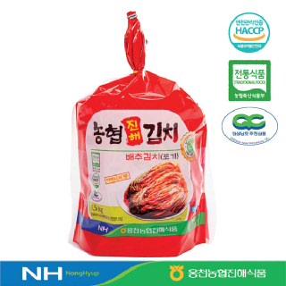 웅천농협진해식품 배추김치(포기)4.5kg