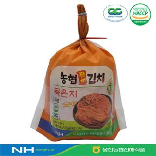 [웅천농협진해식품]묵은지1kg(개)