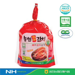 웅천농협진해식품 배추김치(포기)2.5kg