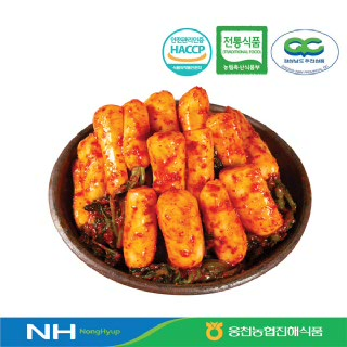 [웅천농협진해식품]총각김치3kg