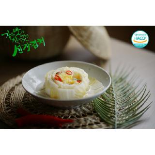 선도농협선장김치 백김치 5㎏