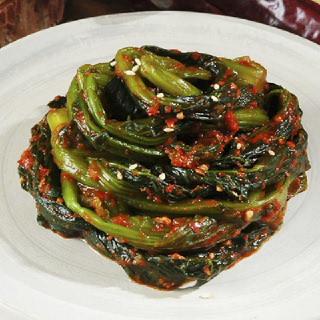 [남도장터]팜푸드 여수 돌산 삼채 갓김치 1kg