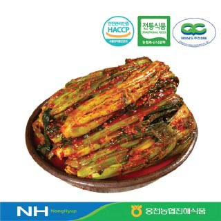 [웅천농협진해식품]갓김치3kg