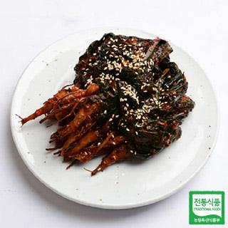 여수참맛 고들빼기 김치 1kg