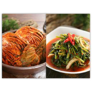 [농협몰]오색소반 포기김치3kg+열무김치3kg
