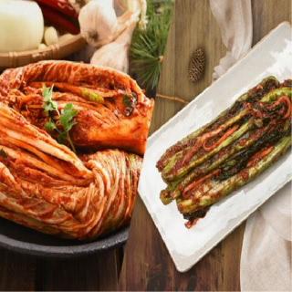 [국산 100%]농협 아름찬 김치세트 포기3kg+갓2kg