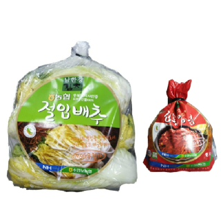 농협남한강김치 행복 포기김치DIY 11kg