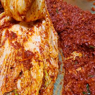 전라도식 국내산 재료 김장양념 5kg 3.5kg 2kg