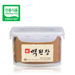 맥된장 1.2kg / 전통의 맥을 이어가는 한국맥꾸룸