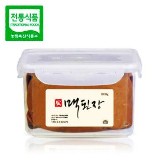 맥된장 1.8kg / 전통의 맥을 이어가는 한국맥꾸룸