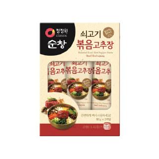 농협하나로마트 청정원 쇠고기 볶음고추장 60g*3개