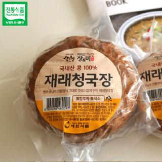 세원식품 장앤미 청국장(200gx5개) / 전통방식으로 정성껏 만든 청국장