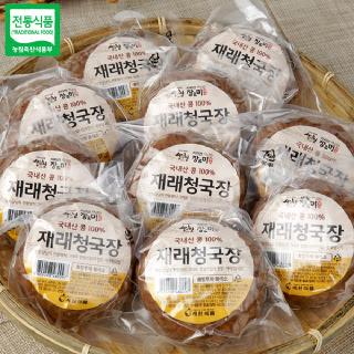 세원식품 장앤미 청국장(200gx10개) / 전통방식으로 정성껏 만든 청국장