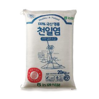 농협아름찬 신안천일염 굵은소금 20kg