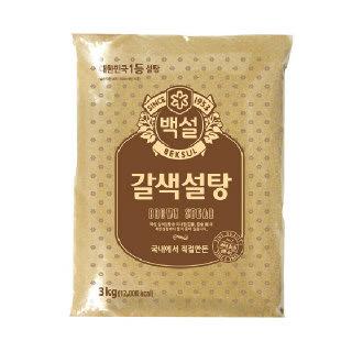 농협하나로마트 백설갈색설탕 3kg