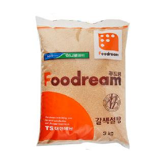 농협하나로마트 HANARO 푸드림갈색설탕 3kg