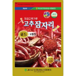 괴산농협 2019년산 청결고춧가루 고추잠자리 골드 500g