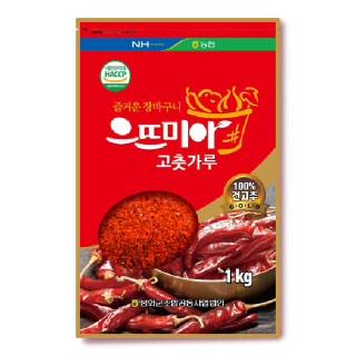 봉화농협 2019년산 으뜨미아고춧가루 1kg