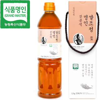 [강명인청] 두레촌 명인쌀조청 1.2kg