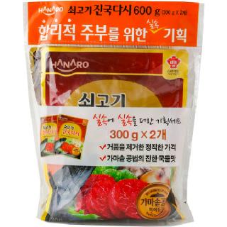 농협하나로마트 HANARO 쇠고기진국다시 300g*2