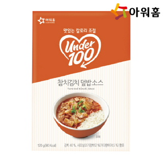 아워홈 언더백 참치김치덮밥 소스 120g 1개