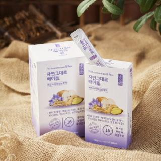 (행사상품) 배도라지생강농축액 스틱형30봉(10g*30봉)+1병(240g) 무료배송